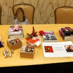 Some of the steampunk stuff we gave away at the Clockwork Carnivale Tea.